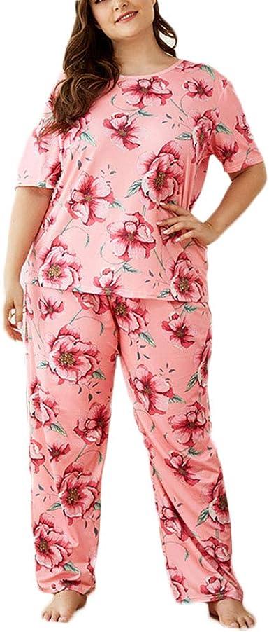 Pijamas De Tallas Grandes Esencial Mujer para Pijamas De ...