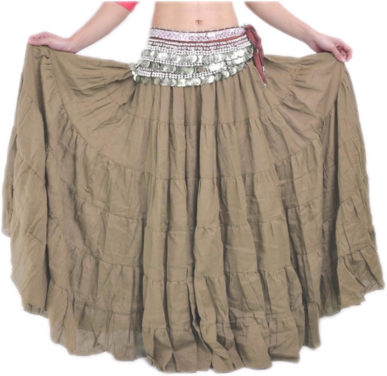 Suvimuga La Mujer Tribal Belly Danza Gitana Flowy Boho Maxi Falda ...