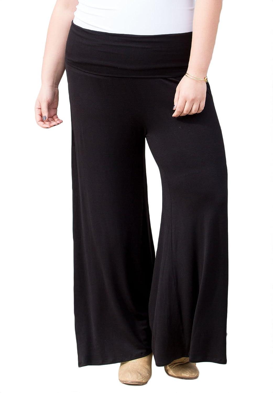 SWAK Womens Plus Size Classic Jersey Pant (Miami Tones)