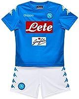 Kit Gara HOME Junior SSC 17/18 Azzurro/Bianco 17/18 Napoli Kappa
