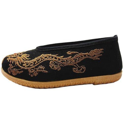 KVbaby Zapatos de Artes Marciales Kung Fu Zapatillas para Correr Niños Zapatillas de deporte: Amazon.es: Zapatos y complementos