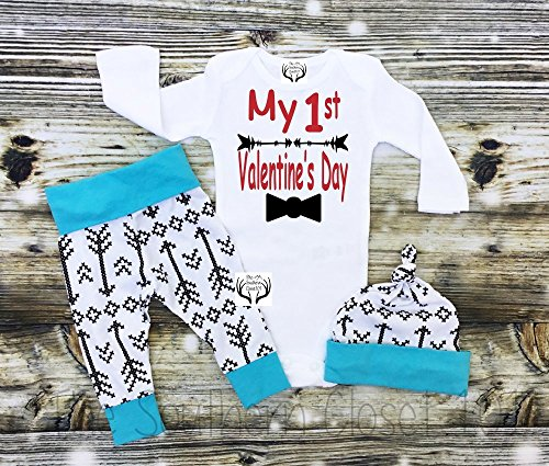 Boys First Valentine's Day Outfit by TheSouthernCloset101