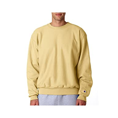 Amazon.com: Champion Adult Reverse Weave Crew Neck Sweatshirt ...