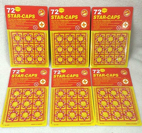 8 Shot Cap Guns (8-shot Plastic Ring Capsules 24 Sheet 1728 Unit Shot)