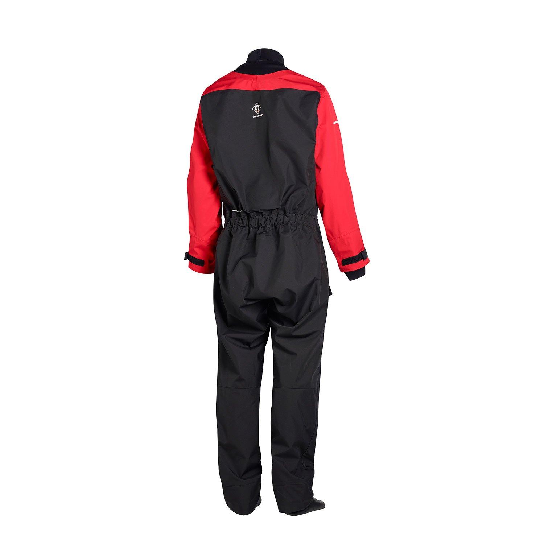 BLACK 6555 2018 Crewsaver Atacama Sport Drysuit Front Zip RED