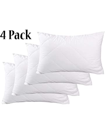 Firm Bounce-Back Pillows Extra Filled 100/% Hollowfibre Fillings 2,4 or 6 Pack