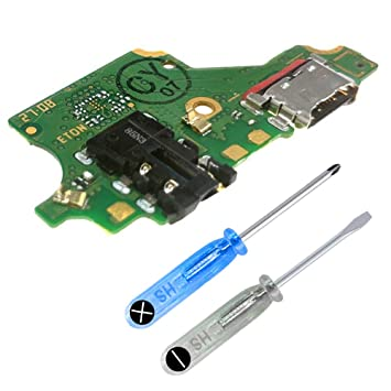 MMOBIEL Reemplazo para Conector Dock de Carga para Huawei P20 Lite ...