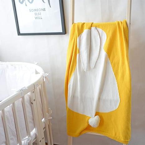 Mantas De Algodón Para Niños Siesta Sofá Dormitorio Aire Acondicionado Manta Manta De Bebé,Los 75 * 105Cm_Oro: Amazon.es: Bebé