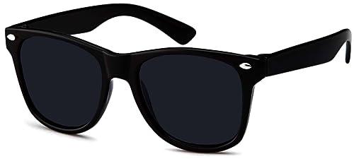 Immerschön - Gafas de sol - para mujer negro brillante Talla única