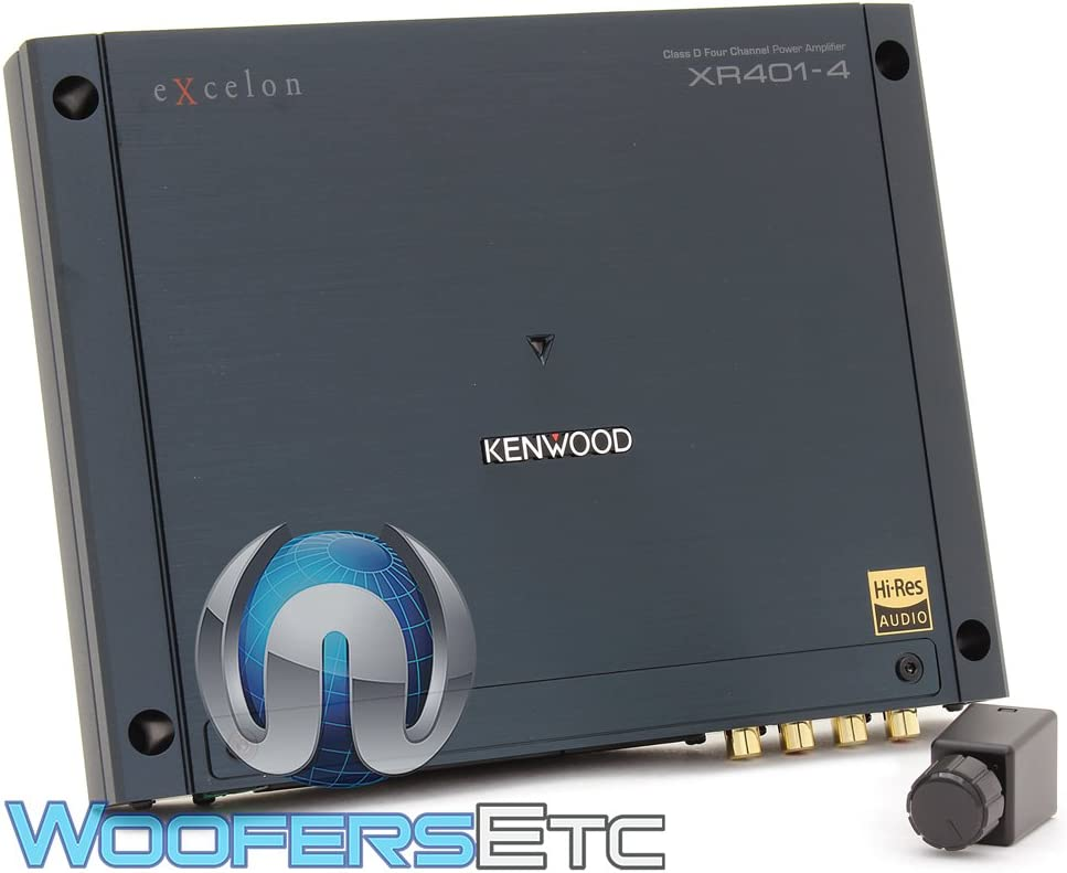 Kenwood Excelon Reference XR401-4 Class D 4 Channel Power Amplifier
