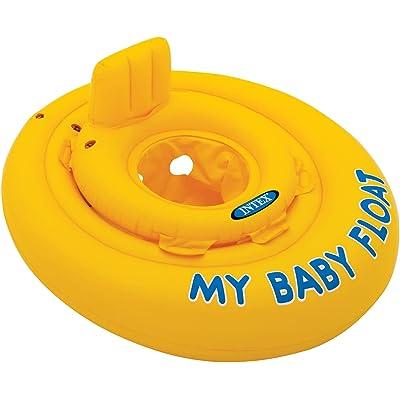 Intex 56585EU - Flotador hinchable bebé 70 cm circular de 6 a 12 meses