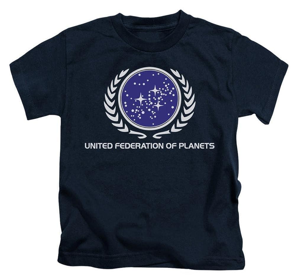 Juvenile Star Trek-United Federation Logo Kids T-Shirt