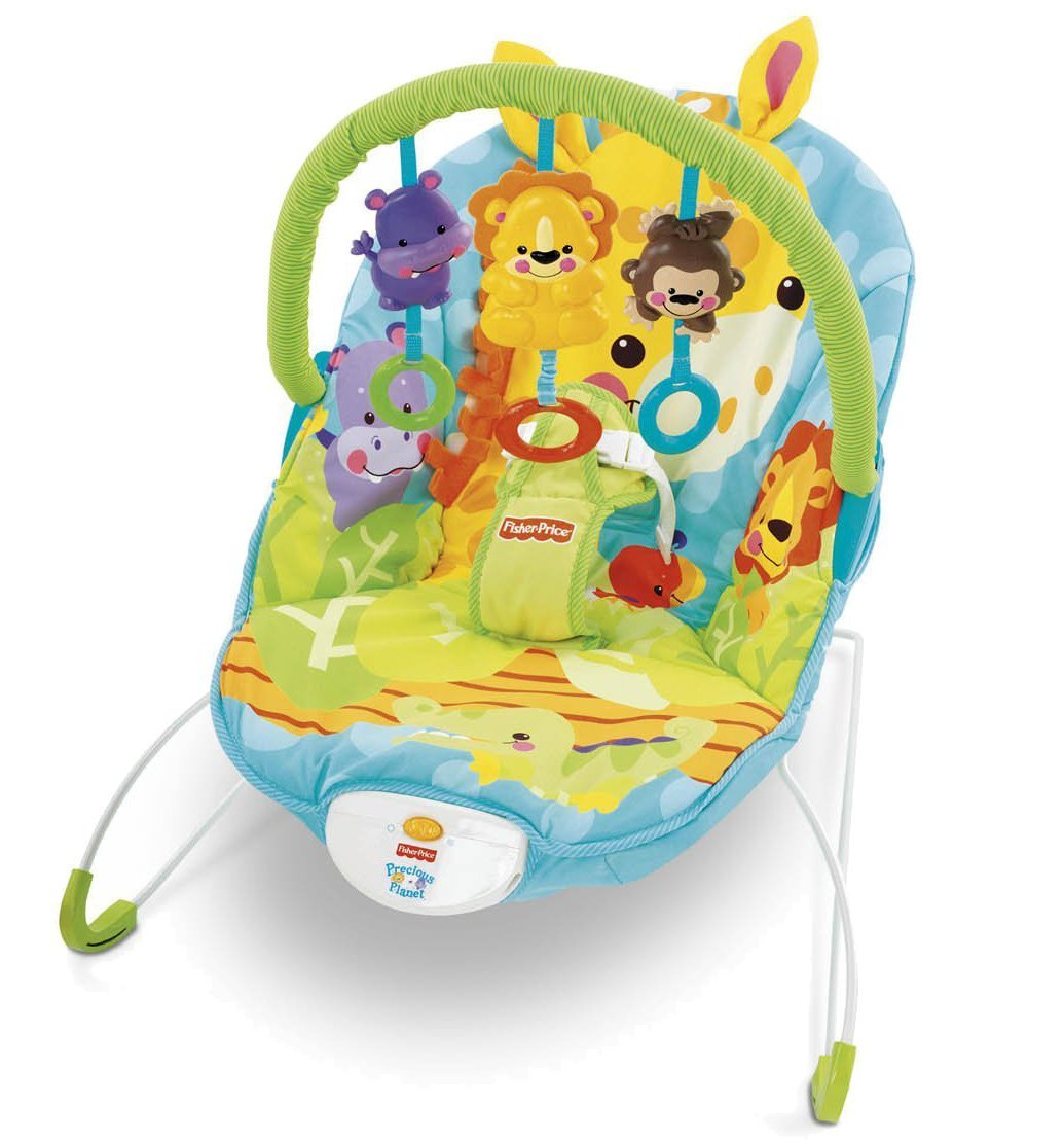 Amazon: Fisherprice Precious Planet Happy Giraffe Bouncer  (discontinued By Manufacturer) (discontinued By Manufacturer): Baby