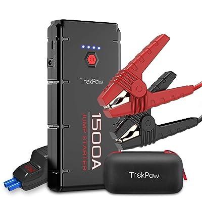 TrekPow G22 1500A jump starter / battery pack