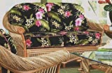 Love Seat with Cushions (Solar Kiwi (All Weather))