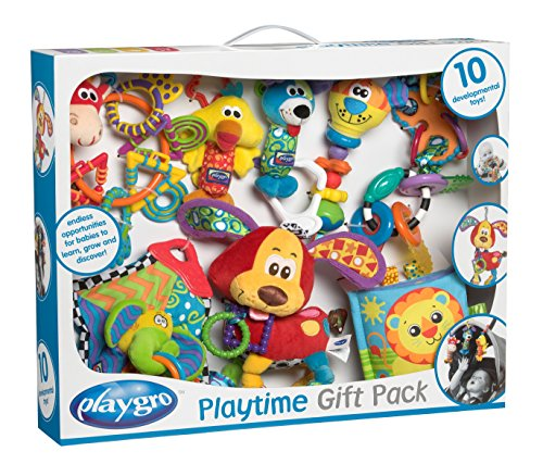 Playgro Playtime Gift Pack for Baby Infant Toddler Children 0182619, Playgro is Encouraging Imagination with STEM/STEM for a Bright Future - Great Start for a World of Learning