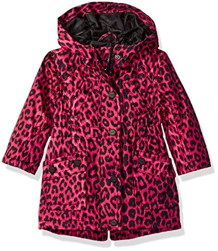 Urban Republic Girls' Cute Trench Coat 1, Leopard Print, 18M (Urban Leopard)