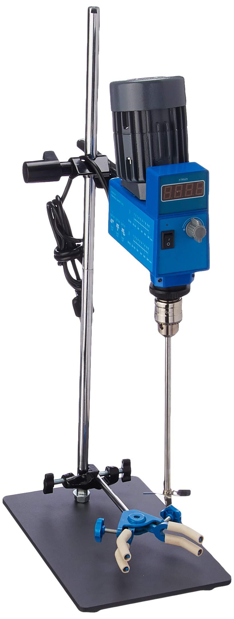 Top Digital Powerful Lab Stirrer mixer 2000RPM 20L 10000mPas 110V by XZB