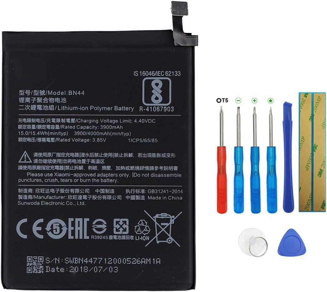 Swark - Batería BN44 compatible con Xiaomi Redmi note5 Redmi 5 Plus con herramientas