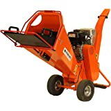 6.5HP PETROL WOOD CHIPPER TIMBER GARDEN SHREDDER MULCHER