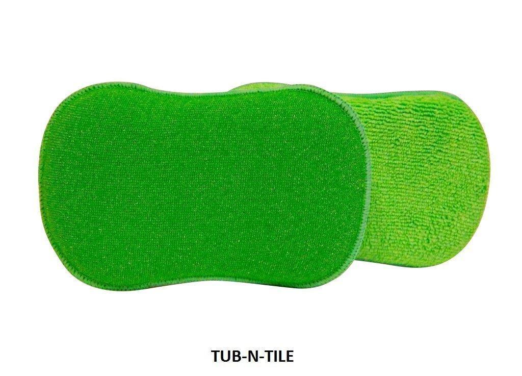 A&H Tub 'n' Tile Microfiber Cleaning Sponges, (6 Pads)