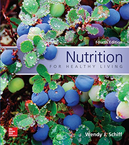 Nutrition For Healthy Living Pdf