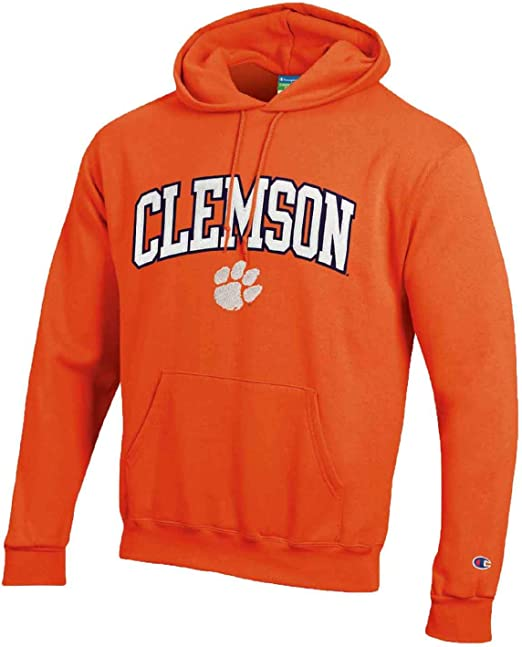 Champion Adult Tackle Twill Hooded Sweatshirt - Officially Licensed Unisex NCAA Team Apparel