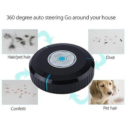 Erduo Robot autolimpiante automático para el hogar Robot Limpiador Inteligente para el hogar Aspirador eficiente para