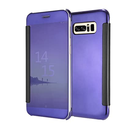 Amazon.com: bbeart Samsung Galaxy Note 8 Carcasa, espejo ...