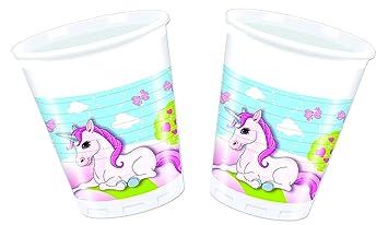 8 vasos * Unicorn * DE Disney para fiestas de cumpleaños ...
