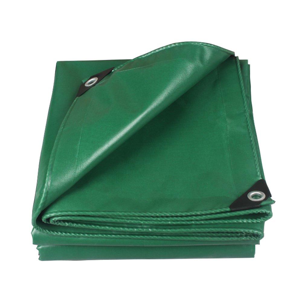 650gの厚い防水布/日焼け止めのタパリン/0.55mm緑の車の防水PVCプラスチック布/オックスフォードの屋外日よけ布 ( 色 : 緑 , サイズ さいず : 2*3m ) B07CRVK2D6 2*3m|緑 緑 2*3m