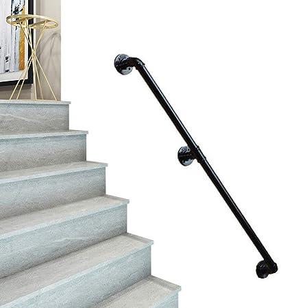 Barandillas de seguridad 1ft-10 ft. Baranda - Kit completo. Escaleras de pared Barandilla Barandilla de madera maciza Escalera Soporte de riel, Barra antideslizante de seguridad, Selecciones de vari: Amazon.es: Hogar