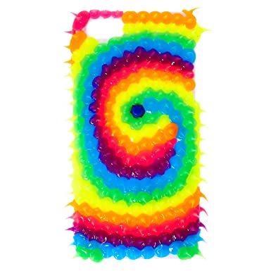 sneakers for cheap ee54c f3dd5 Claire's Girl's Rainbow Rubber Spike Swirl iPod® Touch 5/6 Case ...