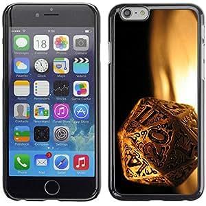 Slim Design Hard PC/Aluminum Shell Case Cover for Apple Iphone 6 Plus 5.5 Magic Dice / JUSTGO PHONE PROTECTOR
