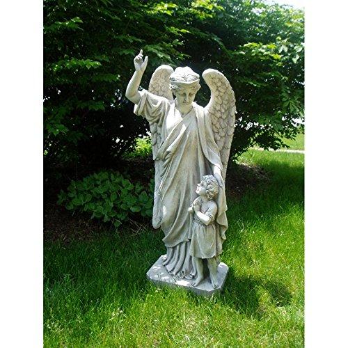 Design Toscano Guardian Angel Childs Prayer Garden Statue