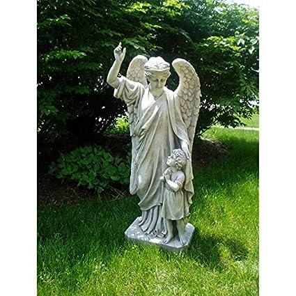 Merveilleux Design Toscano Guardian Angel Childu0027s Prayer Garden Statue