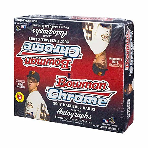 2007 Bowman Chrome Baseball 24ct Retail Box -