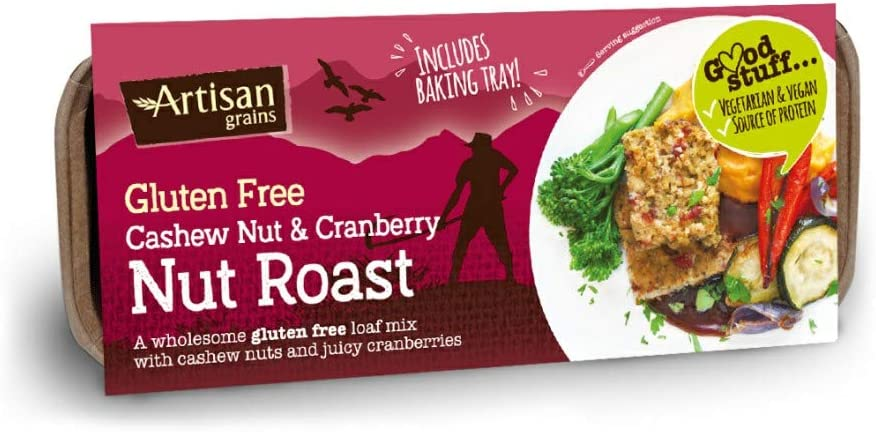 Artisan Grains Nut Roast Cashew and Cranberry 200g (x6)