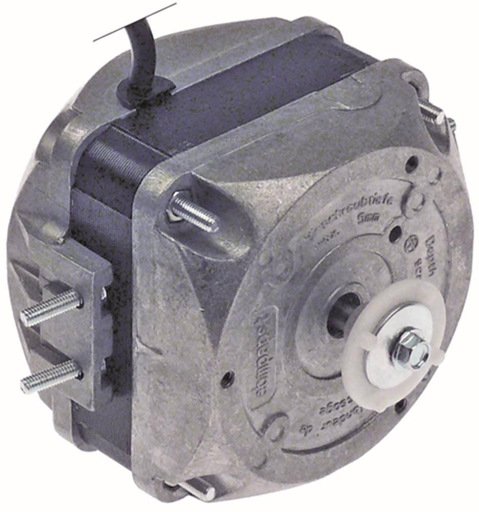 EBM-PAPST M4Q045-CA03-75 - Motor para ventilador (230 V, 10 W, 1300/1550 rpm, 50/60 Hz, 5 opciones de fijación, ancho 67 mm, velocidad 2)