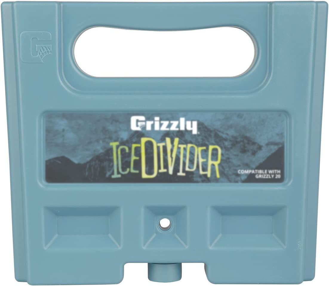 Grizzly IceDivider Ice Pack Cooler Divider, 3 lb