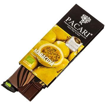 Chocolate sin leche orgánico 70% Maracuya Pacari