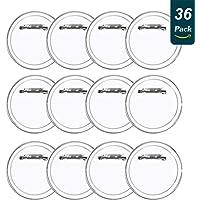 LAKIND 36 Piezas Chapas Personalizadas Botón de Pin