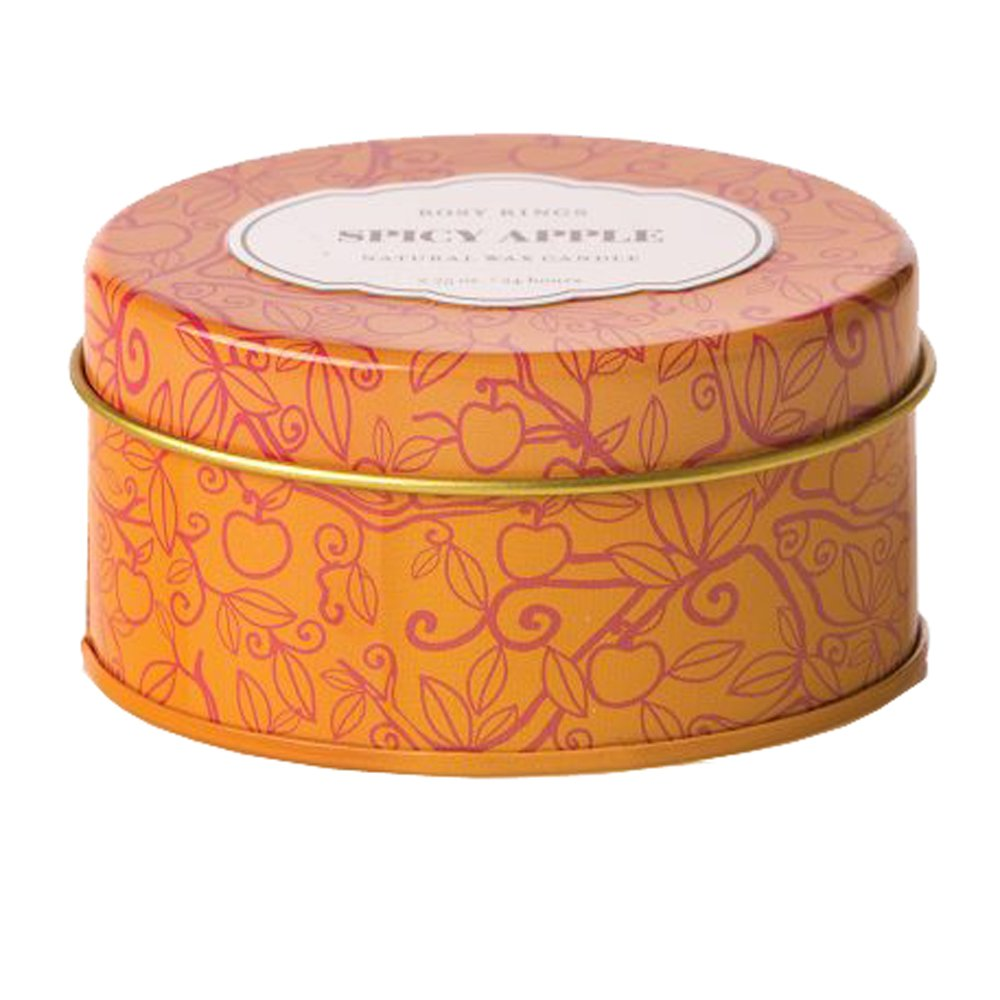 Rosy Rings Spicy Apple Travel Tin Candle
