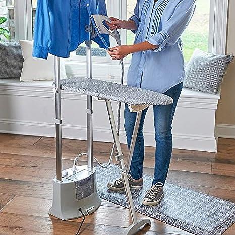 Amazon.com: Deluxe Iron Steamer Garment estación: Home & Kitchen