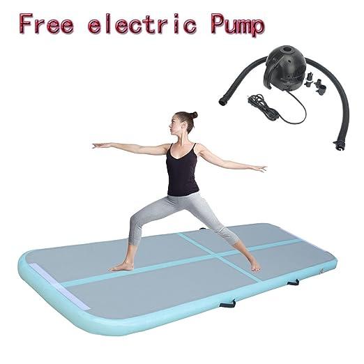 Hinchable de gimnasia Tumbling Mat aire planta flotante ...