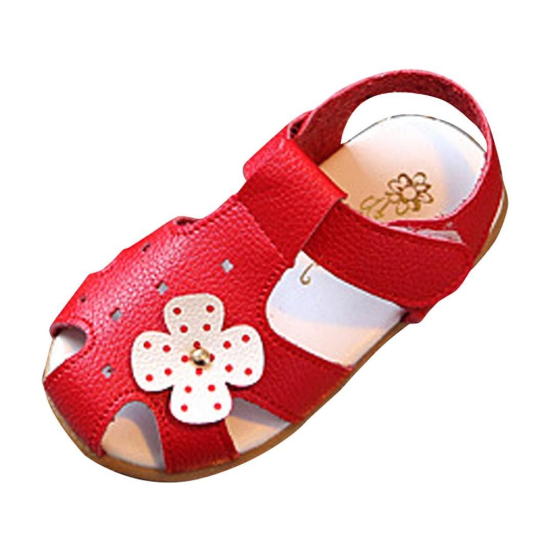 b555831d63af Bebe Fille Sandale Ete Princess Chaussures Flwue Mary Jane EU20-23
