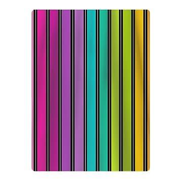 Rayas de colores suave y absorbente/25,6 x 19.7. inch/piscina superficie suave toallas de playa de microfibra de objetivo para adolescentes: Amazon.es: ...