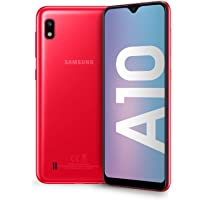 "Samsung Galaxy A10 Display 6.2"", 32 GB Espandibili, RAM 2 GB, Batteria 3400 mAh, 4G, Dual SIM Smartphone, Android 9 Pie, (2019) [Versione Italiana], Red"
