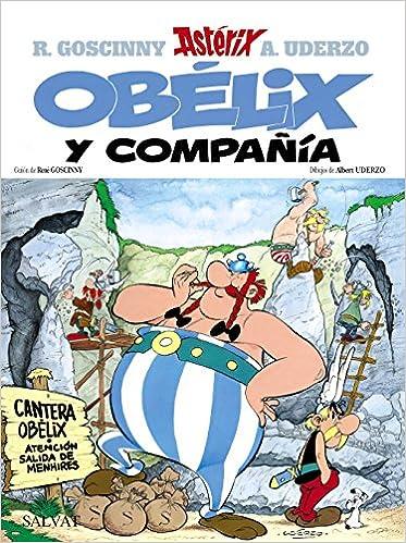 Obélix Y Compañía Castellano A Partir De 10 Años Astérix La Colección Clásica Spanish Edition Uderzo Albert Goscinny René 9788434567412 Books