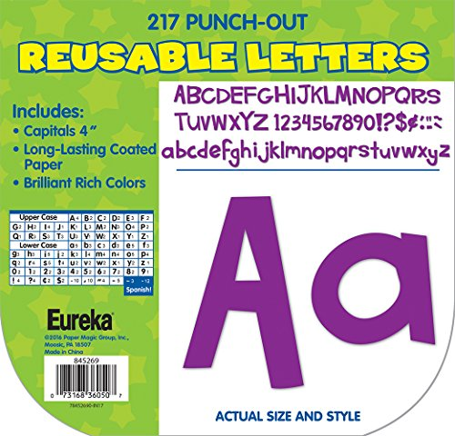 Paper Magic Educational A Sharp Bunch Purple Letters with (845269) (Capital Letter For Halloween)